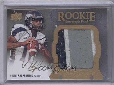 2011 Upper Deck Exquisite Collection #10 - Colin Kaepernick