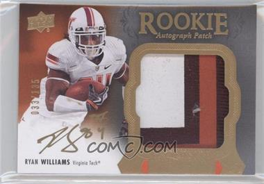 2011 Upper Deck Exquisite Collection #121 - Ryan Williams /135