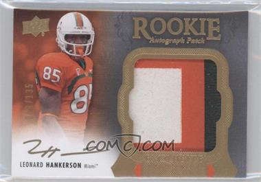2011 Upper Deck Exquisite Collection #125 - Leonard Hankerson /135