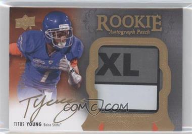 2011 Upper Deck Exquisite Collection #133 - Titus Young /135