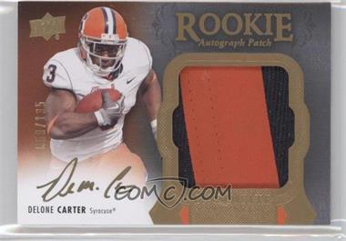 2011 Upper Deck Exquisite Collection #147 - Delone Carter /135