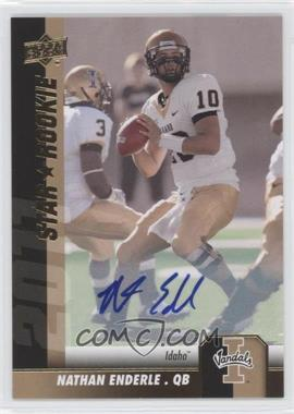 2011 Upper Deck Gold Autographs [Autographed] #100 - Nathan Enderle