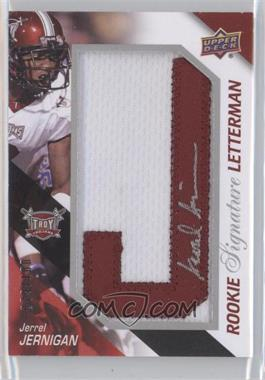 2011 Upper Deck Rookie Signature Letterman #RSL-JJ - Jerrel Jernigan /100