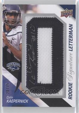 2011 Upper Deck Rookie Signature Letterman #RSL-KA - Colin Kaepernick /75