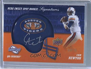 2011 Upper Deck Sweet Spot - Rookie Signatures - Variations #RS-CN - Cam Newton /75