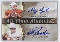 Major Applewhite, Peter Gardere /20
