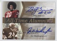 Billy Sims, Joe Washington /20