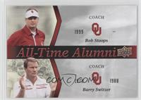 Barry Switzer, Bob Stoops