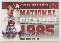 Barry Switzer, Brock Bolen, Brian Bosworth