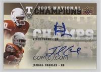 Vince Young, Jamaal Charles /5
