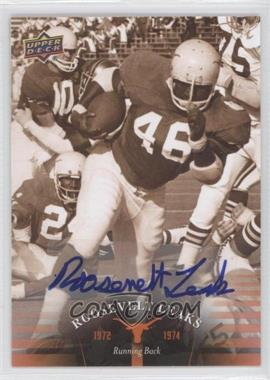 2011 Upper Deck University of Texas Autographs [Autographed] #25 - Roosevelt Leaks