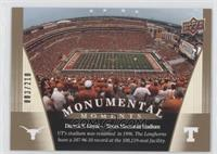 Darrell K Royal - Texas Memorial Stadium /210