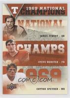 James Street, Steve Worster, Cotton Speyrer
