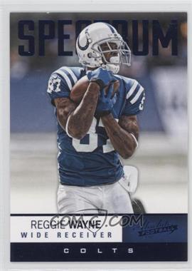 2012 Absolute - [Base] - Spectrum Blue #20 - Reggie Wayne /100