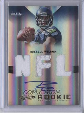 2012 Absolute - Rookie Premiere Materials - NFL Signatures [Autographed] #230 - Russell Wilson /299