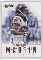 Rookies - Keshawn Martin /399