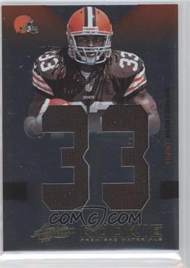 2012 Absolute Rookie Premiere Materials AFC/NFC #235 - Trent Richardson /99