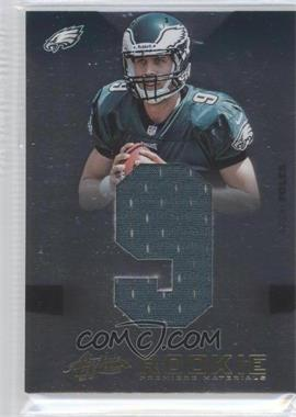 2012 Absolute Rookie Premiere Materials Jumbo Jersey Number #224 - Nick Foles /99