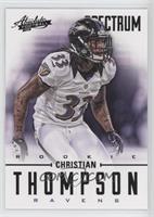Christian Thompson /25