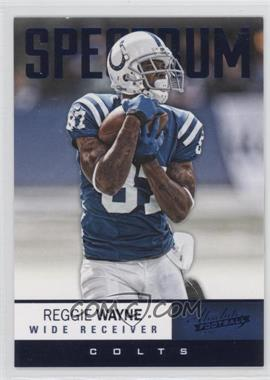 2012 Absolute Spectrum Blue #20 - Reggie Wayne /100