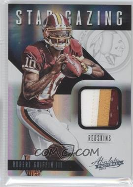 2012 Absolute Star Gazing Materials Prime #1 - Robert Griffin III /49