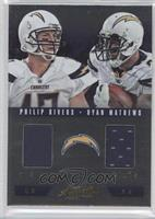 Philip Rivers, Ryan Mathews /50