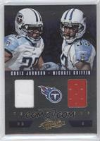 Michael Griffin, Chris Johnson /50