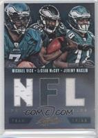 Jeremy Maclin, LeSean McCoy, Michael Vick /49