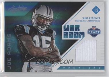 2012 Absolute War Room Materials Prime #17 - Joe Adams /49
