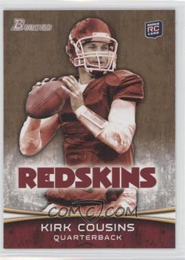 2012 Bowman - [Base] - Gold #145 - Kirk Cousins