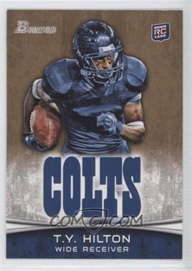 2012 Bowman - [Base] - Gold #176 - Dwayne Allen