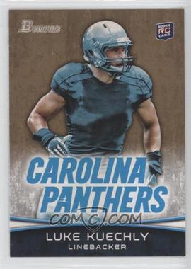 2012 Bowman - [Base] - Gold #190 - Luke Kuechly