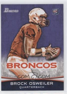 2012 Bowman - [Base] - Purple #121 - Brock Osweiler