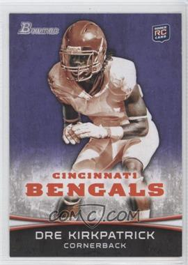 2012 Bowman - [Base] - Purple #185 - Dre Kirkpatrick