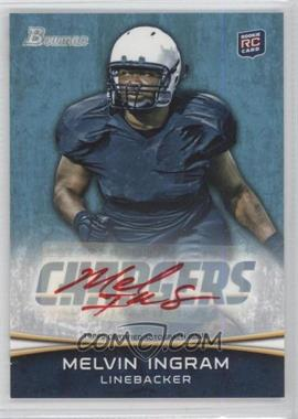 2012 Bowman - [Base] - Rookie Red Ink Autograph [Autographed] #180 - Melvin Ingram