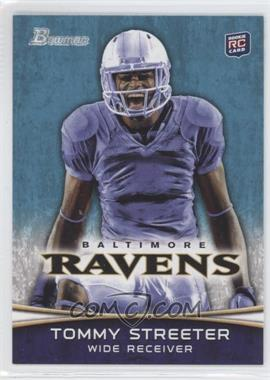 2012 Bowman - [Base] #114.2 - Tommy Streeter (Mouth Open)