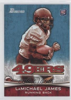 2012 Bowman - [Base] #132.1 - LaMichael James (White Jersey)
