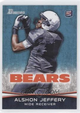 2012 Bowman - [Base] #137.2 - Alshon Jeffery (Facing Back - Looking For Ball)