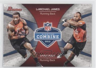 2012 Bowman - Combine Competition #CC-JP - LaMichael James, Chris Polk