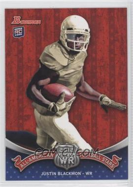 2012 Bowman All-American Football Stars #BAA-JB - Justin Blackmon
