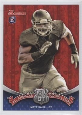 2012 Bowman All-American Football Stars #BAA-MK - Matt Kalil