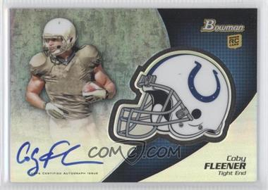 2012 Bowman Chrome Rookie Autographs #BCRA-CF - Coby Fleener