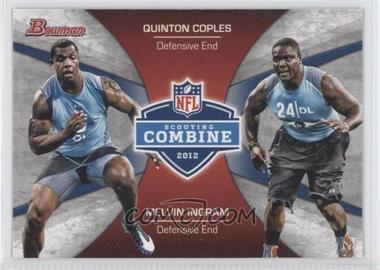 2012 Bowman Combine Competition #CC-CI - Melvin Ingram, Quinton Coples