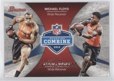 2012 Bowman Combine Competition #CC-FW - Michael Floyd, Kendall Wright