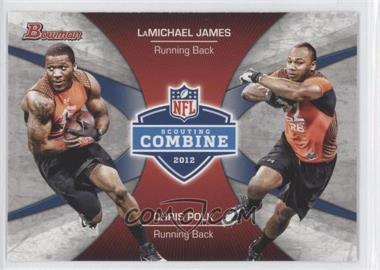 2012 Bowman Combine Competition #CC-JP - LaMichael James, Chris Polk