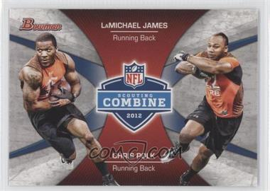 2012 Bowman Combine Competition #CC-JP - LaMichael James, Chris Polk