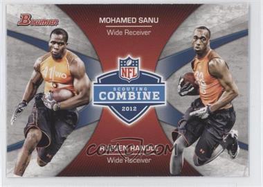 2012 Bowman Combine Competition #CC-SR - Mohamed Sanu, Rueben Randle