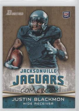 2012 Bowman Gold #130 - Justin Blackmon