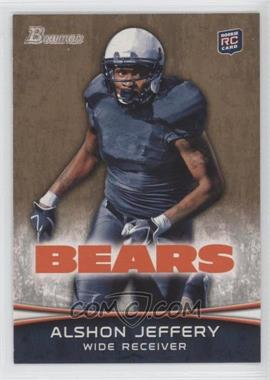2012 Bowman Gold #137 - Alshon Jeffery