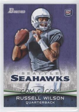 2012 Bowman Purple #116 - Russell Wilson